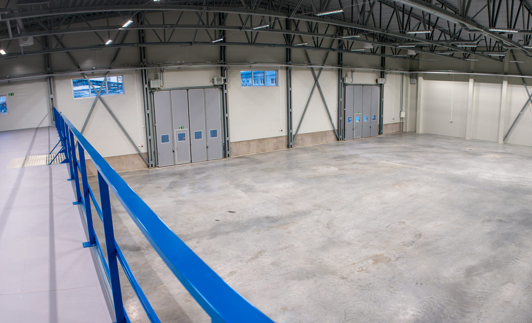 New warehouse – 840 sqm